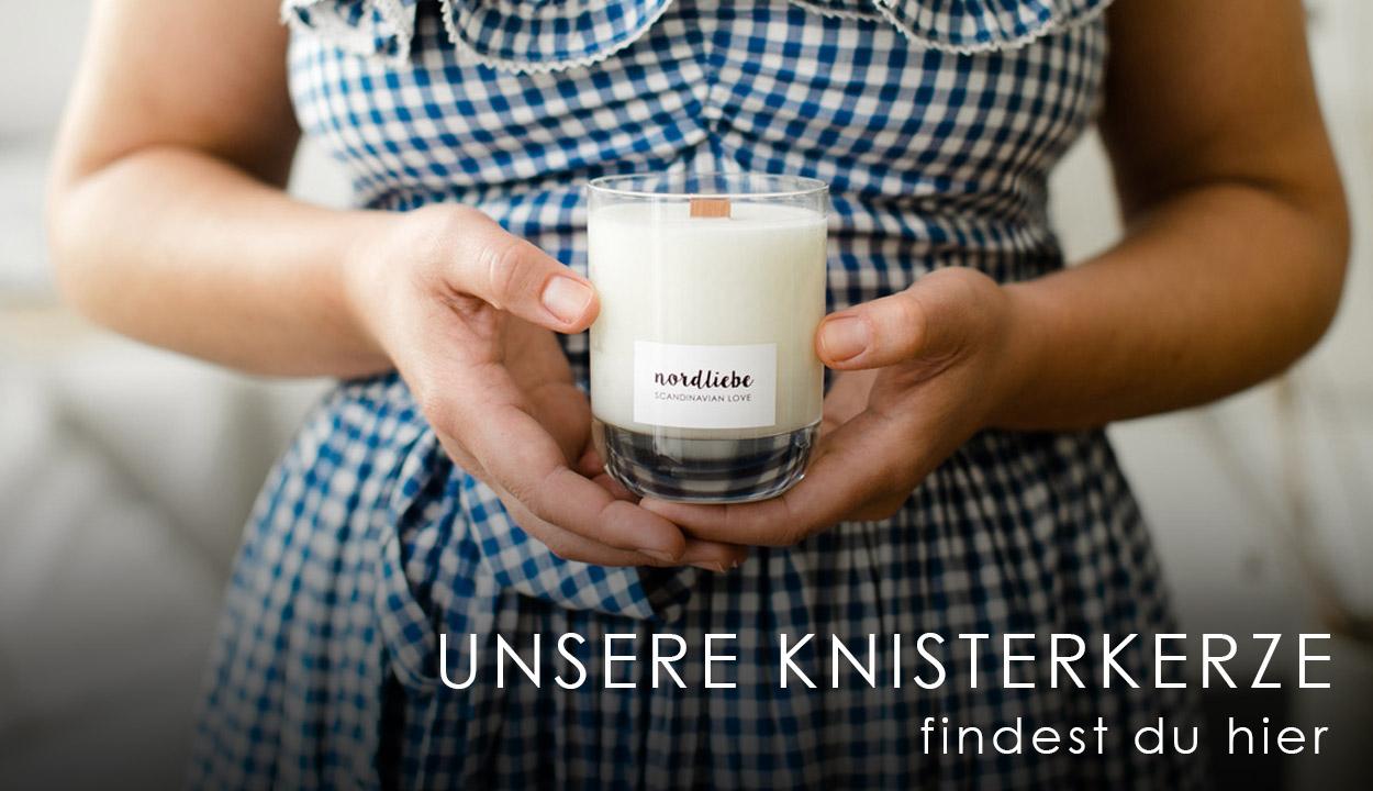 Knisterkerze - Scandinavian Love