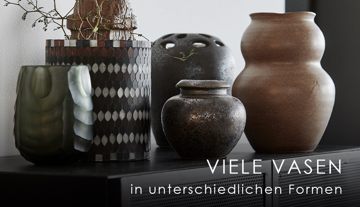 Vasen in allen Formen