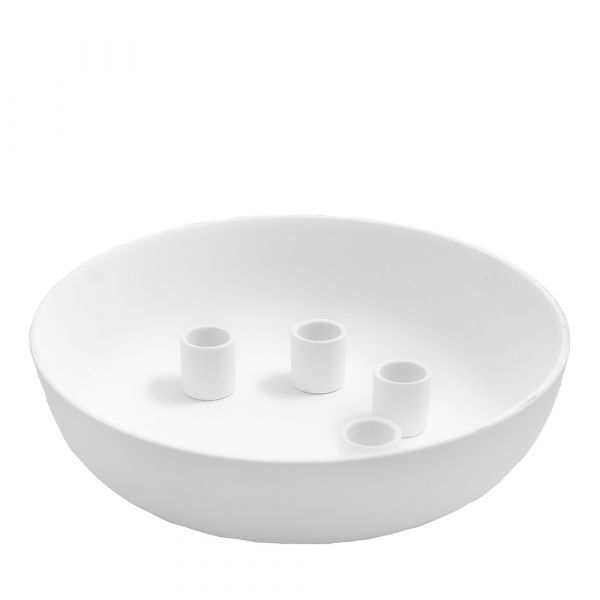 Kerzenhalter Kvistbro - weiß