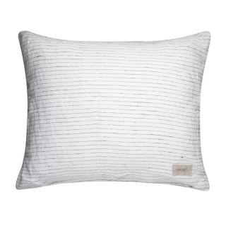 Kissenbezug inkl. Füllung - schwarz/weiß 60 x 50 cm
