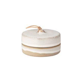 Keramikdose mit Deckel - klein