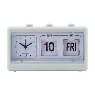 Uhr - Retro hellgrau