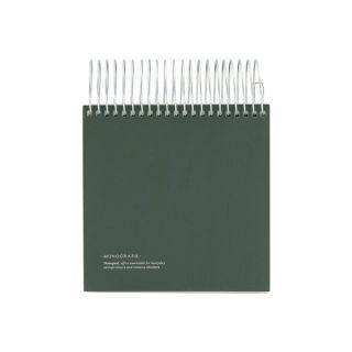 Notizblock - dunkelgrün 14 x 14 cm