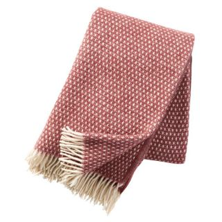 Wolldecke Knut - rose brown