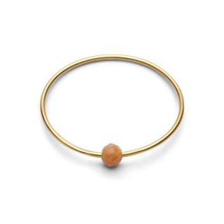 Birthstone Ring - June PFIRSICH MONDSTEIN Gr. 1