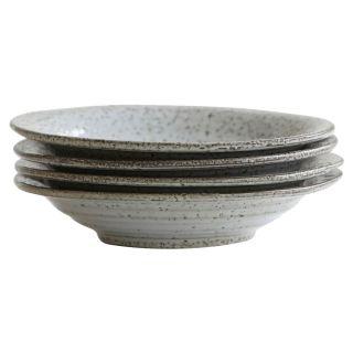Suppenteller Rustic - Grau/Blau