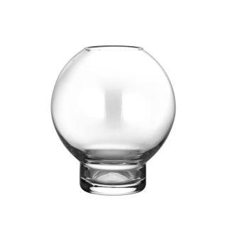 Glasvase/Kerzenglas - rund 14 cm