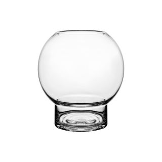 Glasvase/Kerzenglas - rund 18,5 cm