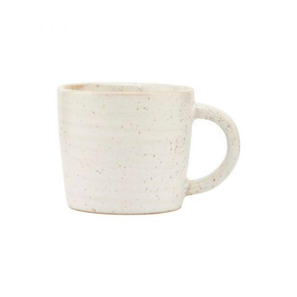 Espressotasse Pion - grau/weiß