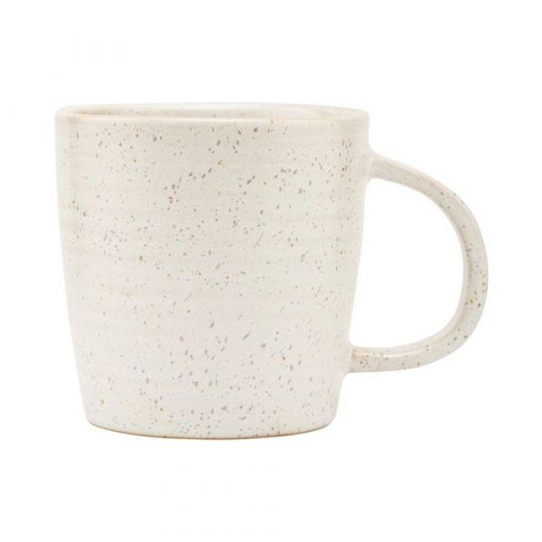 Tasse Pion - grau/weiß