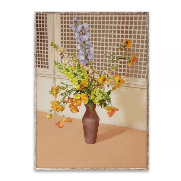 Poster - Blomst 06 - Beige - 50x70 cm