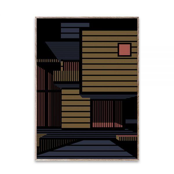 Poster - Empty Spaces 01 - Dark - 50x70 cm