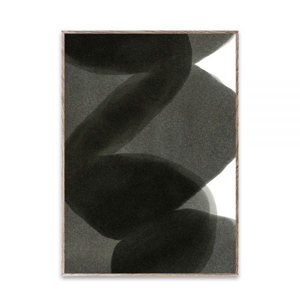 Poster - Ensō - Black II - 50x70 cm