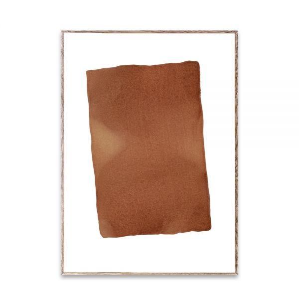 Poster - Ensō - Burned II  - 50x70 cm