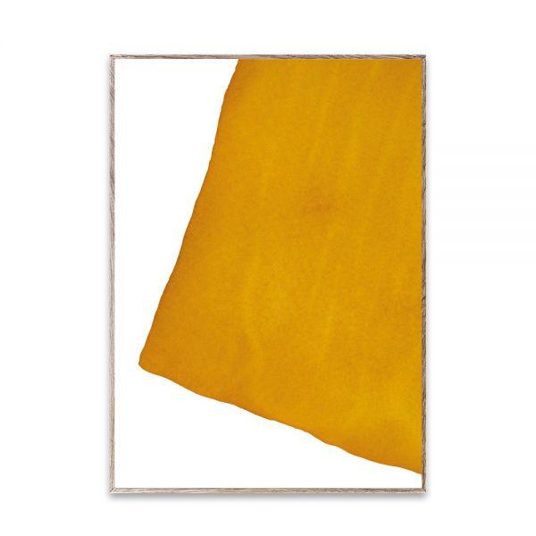 Poster - Ensō - Yellow I - 50x70 cm