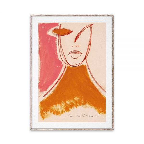 Poster - Pink Portrait - 50x70 cm