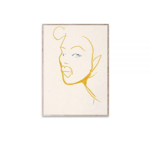 Poster - Silhouette 03 - 30x40 cm