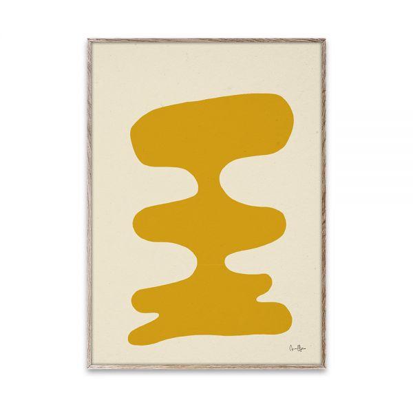 Poster - Soft Yellow - 50x70 cm