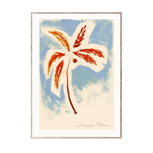 Poster - Stormy Palm - 50x70 cm
