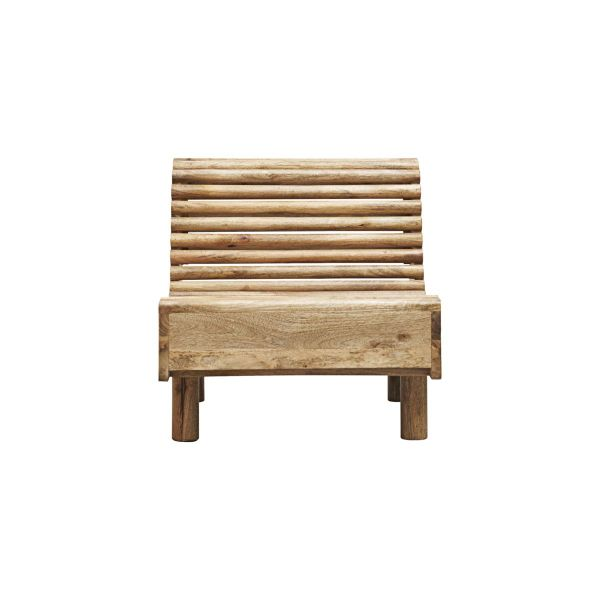 Lounge-Sessel Wave - natur
