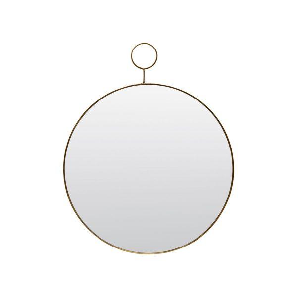 Spiegel The Loop - messing Ø 38 cm