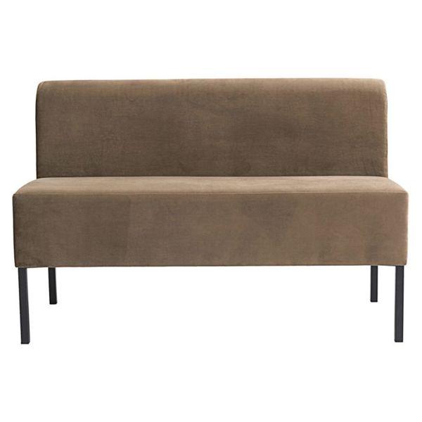 Sofa Zweisitzer - sand