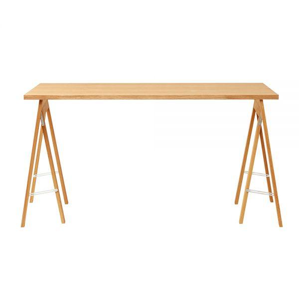 Linear Tischplatte - Eiche 125 x 68 cm