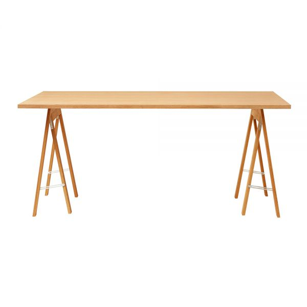 Linear Tischplatte - Eiche 165 x 88 cm