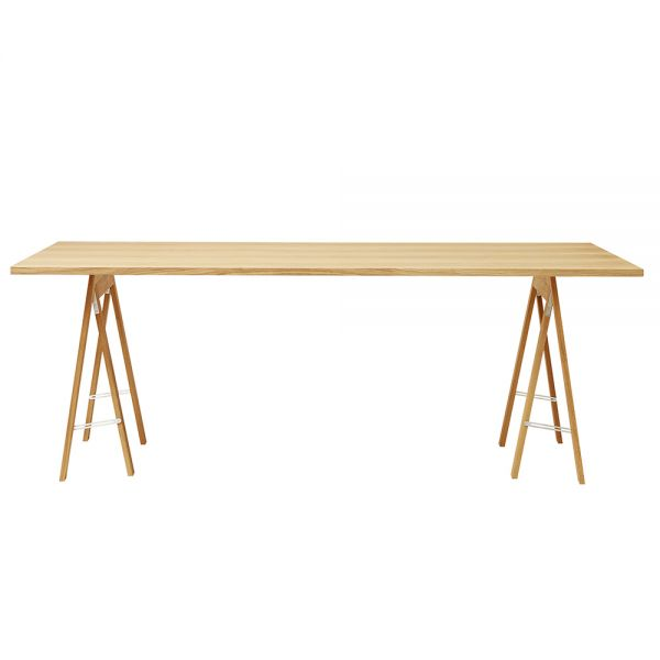 Linear Tischplatte - Eiche 205 x 88 cm