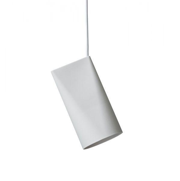 Keramik Lampe Narrow - weiß