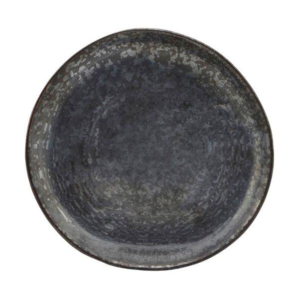 Kuchenteller Pion - schwarz/braun Ø 16,5 cm