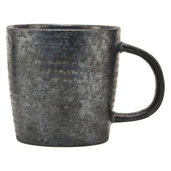 Tasse Pion - schwarz/braun Ø 9 cm