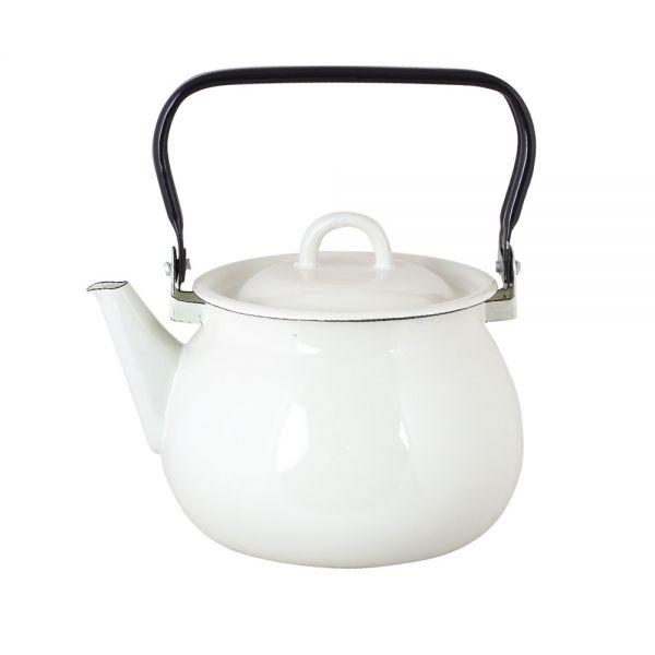 Emils Teekanne - antikes weiß