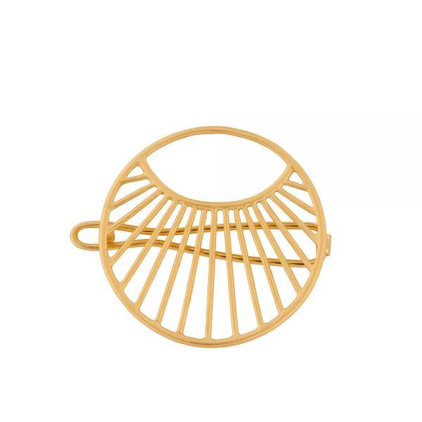Haarklammer - Daylight - gold 30 mm