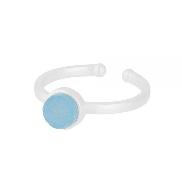 Ring - Small Shallow - silber 6 mm