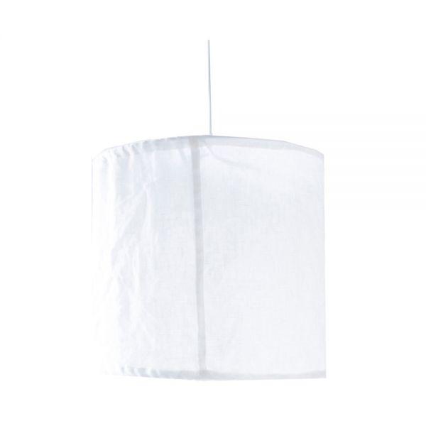 Lampenschirm LINDÅS - weiß klein