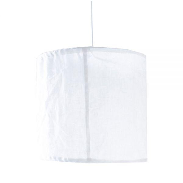Lampenschirm LINDÅS - weiß groß