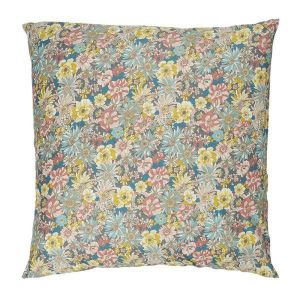Kissenbezug - mit Blumen 60 x 60 cm