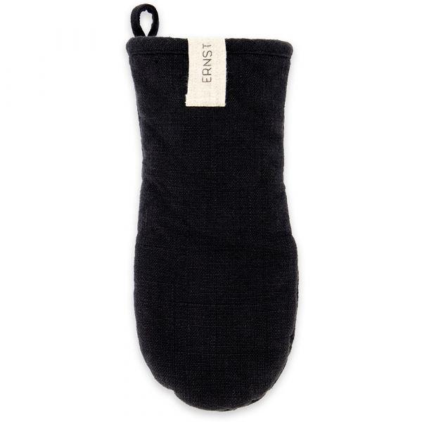 Topfhandschuh aus Baumwolle - schwarz