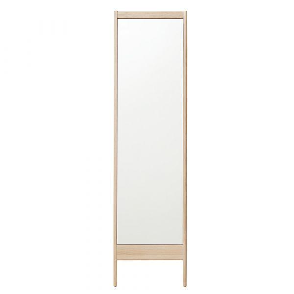 A Line Spiegel - weiß pigmentierte Eiche