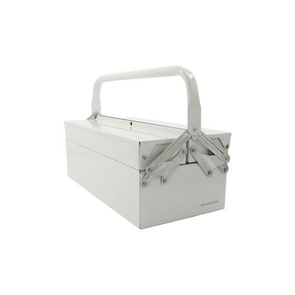 Werkzeugkasten Optimus - weiß 42 x 16 cm