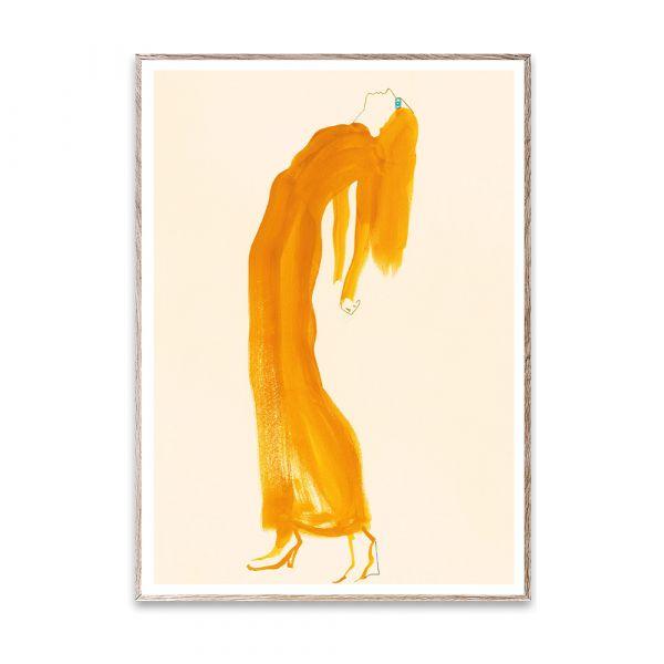 Poster - The Saffron Dress - 50 x 70 cm