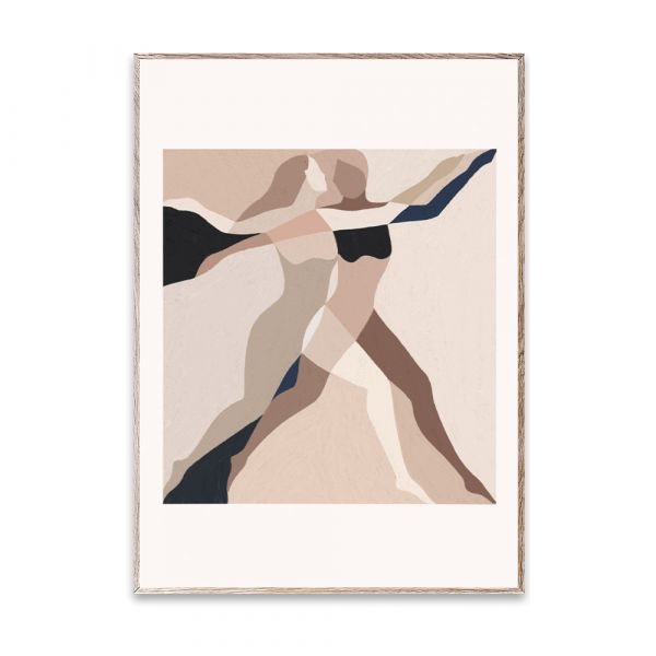 Poster - Two Dancers - 50 x 70 cm