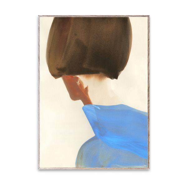 Poster - The Blue Cape - 50 x 70 cm