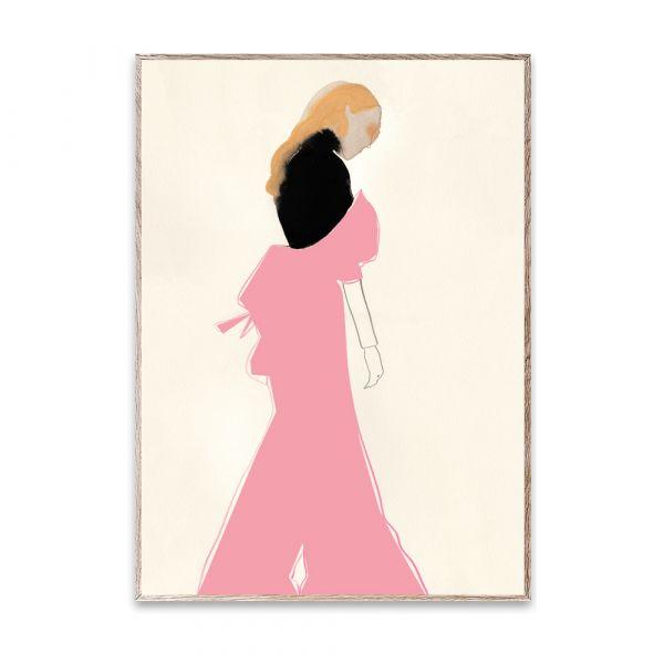 Poster - Pink Dress - 50 x 70 cm