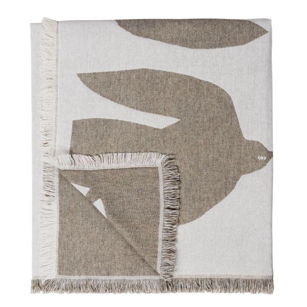 Decke Early Bird - olive 170 x 130 cm