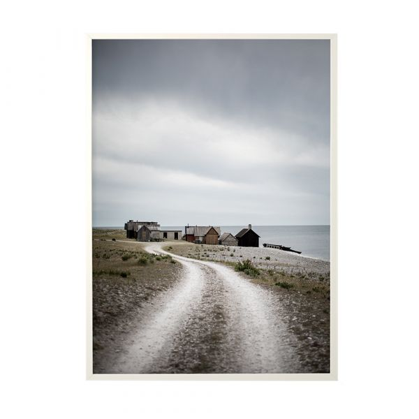 Poster Fishing Hut - 50 x 70 cm