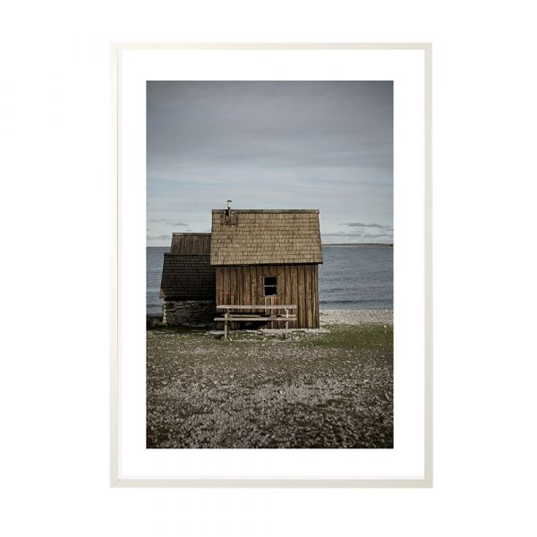 Poster Brown Hut - 50 x 70 cm