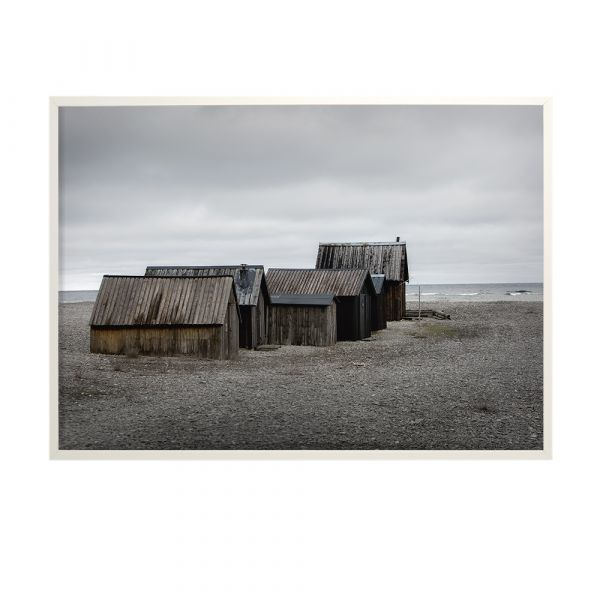 Poster Cluster Of Sheds - 50 x 70 cm