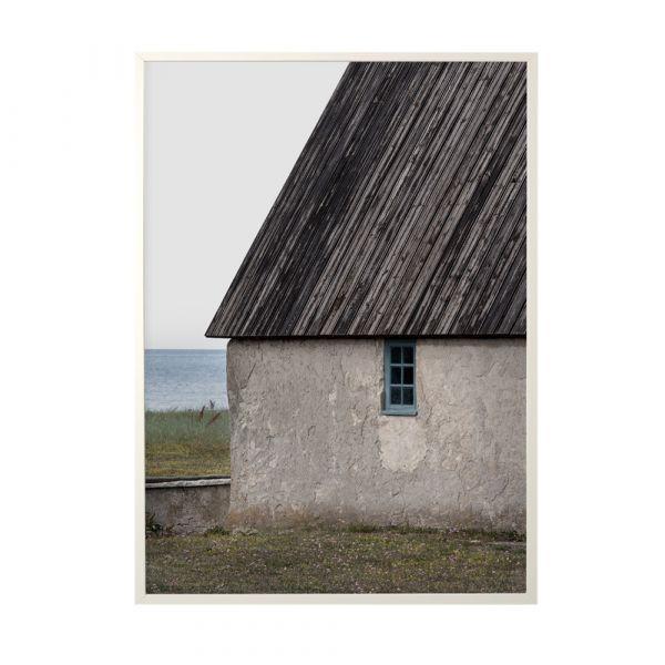 Poster Blue Window - 50 x 70 cm